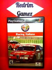 Alfa Romeo Racing Italiano PS2 Video Games