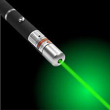 1mW POWERFUL GREEN LASER LAZER POINTER LIGHT PEN HIGH POWER PROFESSIONAL 532nm
