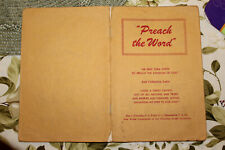 "1953 PREACH THE WORD Watchtower Jehovah""s Witnesses"