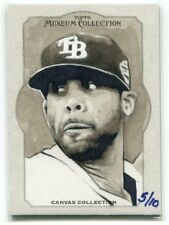2013 Topps Museum Collection Canvas Collection Originals DP David Price 5/10