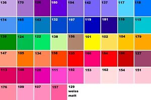 Freie Farbauswahl - 48 x Farbfolien Farbfilter 21 x 21 cm Filter Folie PAR 56