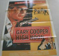 Filmplakat,Plakat,HIGH NOON, GARY COOPER,Western #35