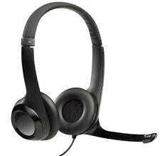 Logitech - H390 USB Headset with Noise Cancelling Microphone, Windows Mac Chrome