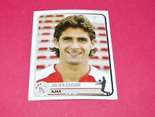 31 J. ESCUDE AJAX AMSTERDAM UEFA PANINI FOOTBALL CHAMPIONS LEAGUE 2005 2006