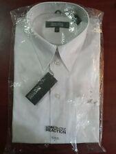 NWT Kenneth Cole Reaction 100% Cotton Mens Dress Shirt Size 16 (L) 34-35 White