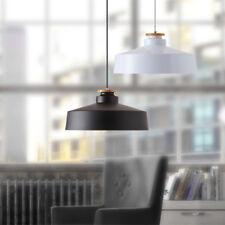 Modern Pendant Light Shop Ceiling Lights Wood Black Chandelier Lighting Bar Lamp