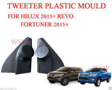 BLACK TWEETER MOULD FOR TOYOTA HILUX REVO PICKUP FORTUNER SUV 2015 2016 15 16 17