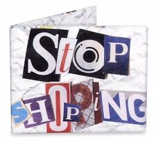 Dynomighty Mighty Wallet Tyvek Stop Shopping White Eco-Friendly Recyclable