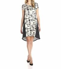 Polyester Short Sleeve Casual Dresses Tunic/Smock Dress