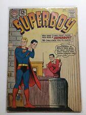 Superboy 94 Good Gd 2.0 Water Damage Top Staple Detatched Dc Comics