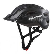 Cratoni Fahrrad Helm Fahrradhelm C-Stream City Gr. XXL 59-65cm schwarz matt