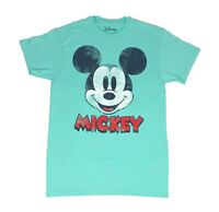 Disney Mickey Mouse Distressed Face Licensed Disneyland Mens T Shirt S-2XL