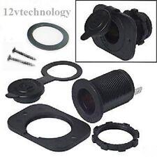Heavy Duty Power Locking Waterproof Motorcycle Accessory Plug Socket 12V Marine