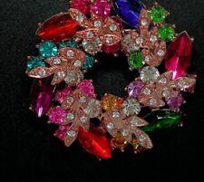 Sparkly Rhinestone Necklace exshop stock vintage rev. -2 lots Post all FREE