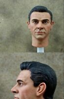 Custom Male Sean Connery Head Sculpt 1/6 Fit for Phicen Hot Toy Body