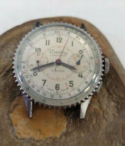 Breitling Chronomat 769 Watch Bottle Cap Dial Wristwatch Men's SS 217012 596078
