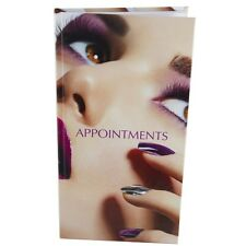 NAILS on Face Appointment Book Diary 3-6 Column Salons Mobile Modern Image