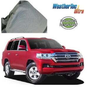 Car Cover Fits Landcruiser SUV 4WD 4.66m to 5.12m Weathertec Ultra Non Scratch