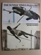 More details for sunday times october 1 1972 lauren bacall leni riefenstahl olympics king hussein