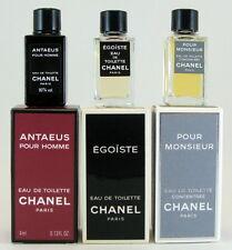 CHANEL Collection 3 mini perfumes man. Egoïste, Pour Homme, Antaeus 4ml