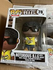 Funko Pop Rocks: Music Notorious B.I.G. with Jersey 78 31554 In stock