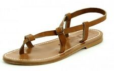 K Jacques Saint-Tropez Jival Sandals Tan Leather barely used, Uk Size 6.5 To 7