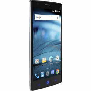 ZTE ZMAX 2   New, Open Box   AT&T   Black   16 GB   5.5 in Screen