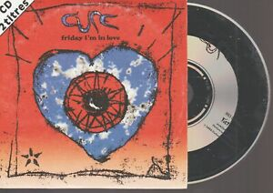 The Cure Friday I'm In Love Cd Single France French Card Sleeve