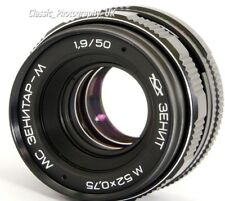 MC Zenitar-M 1.7/50mm BIOTAR Style Lens Made in USSR in 1991 M42 + DIGITAL fit