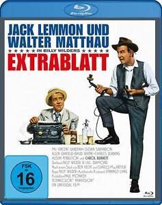 Extrablatt [Blu-ray/NEU/OVP] von Billy Wilder mit Jack Lemmon und Walter Matthau