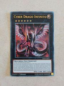 Cyber Drago Infinito (cyber dragon infinity) •LEDD-ITB31• ULTRA RARA