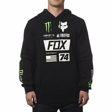 FOX RACING MENS MONSTER UNION PO PULL OVER HOODY Black M