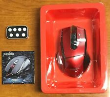 Perixx MX-2000 II Programmable Gaming Laser Mouse - Red