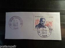 FRANCE 2013, timbre 4724, RAPHAEL ELIZE', oblitéré CACHET ROND, CANCEL STAMP