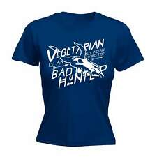 Vegetarian Is An Indian Word For Bad Hunter Funny Joke Vegan Meat FITTED T-SHIRT