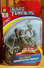 Transformers The Movie 2007 Fast Action Battlers Disc Blast Frenzy MOSC AFA