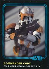 #85 COMMANDER CODY 2016 Topps Star Wars Trader Physical card w/UNUSED CODE BLUE