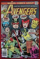 Avengers Vol. 1 Issue #154 Marvel Comics Vision Atlantean Attuma 1976 Jack Kirby