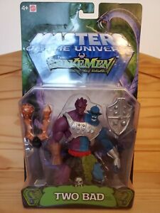 """MOTU Snakemen """"Two Bad"""" Masters Of The Universe He-Man Brand NEW"""