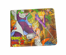 Dragon ball Z DBZ Bifold wallet cosplay Son Goku anime Wallet Purse billfold