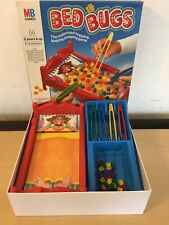 RETRO 80'S KIDS BOARD GAME - BED BUGS - 1985 MB GAMES - 100% COMPLETE VG COND