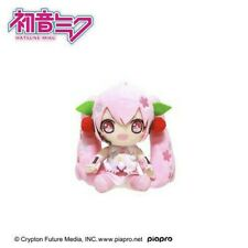 "Hatsune Miku Plush Sakura Miku Ver A Plush Doll Toy Japan 6"" NWT Cute Vocaloid"