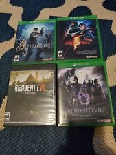 Resident Evil Collection 4 Game Bundle 4,5,6,7 Biohazard Xbox One.