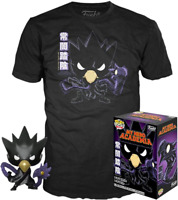 Fumikage Tokoyami Metallic MHA Funko Pop Vinyl + T-Shirt New in Sealed Box