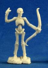 1 x SQUELETTE GUERRIER ARCHER - BONES REAPER figurine miniature jdr rpg skeleton