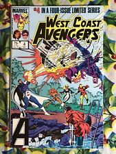 West Coast Avengers #4 (Dec 1984, Marvel)