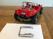 SOLID ALLOY ROLL BAR CAGE FOR VINTAGE RC TAMIYA SAND ROVER + RE RE STREET ROVER