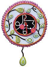"""Allen Designs. Uhr """"Moon Cake Pink Clock"""". Border Fine Arts."""