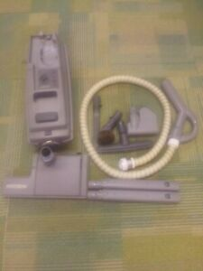 Electrolux Aerus canister vacuum cleaner. Model 6500 grey, . Runs tip top.