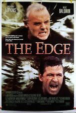 The Edge 1997 Original Movie Poster 27x40 Rolled, Double-Sided